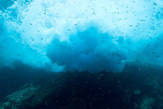 Surge under Water